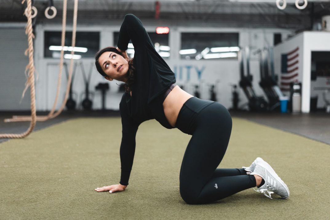 Back mobility exercise